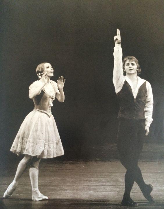 Makarova and Baryshnikov in Giselle, ABT
