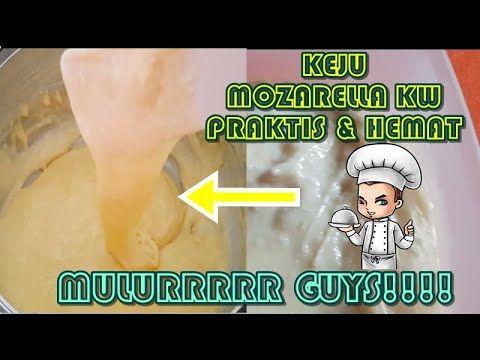 Cara Membuat Keju Mozarella Kw Homemade Di 2020 Keju Video Minuman