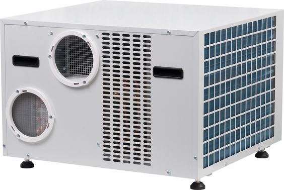 ClimateRight CR10000ACH Portable Air Conditioner and Heat Pump Front Right