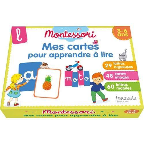 Montessori Mes Cartes Pour Apprendre A Lire 9782017080862 Livres Montessori Livres Scolair Apprendre A Lire Methode De Lecture Cahier De Vacances Gratuit