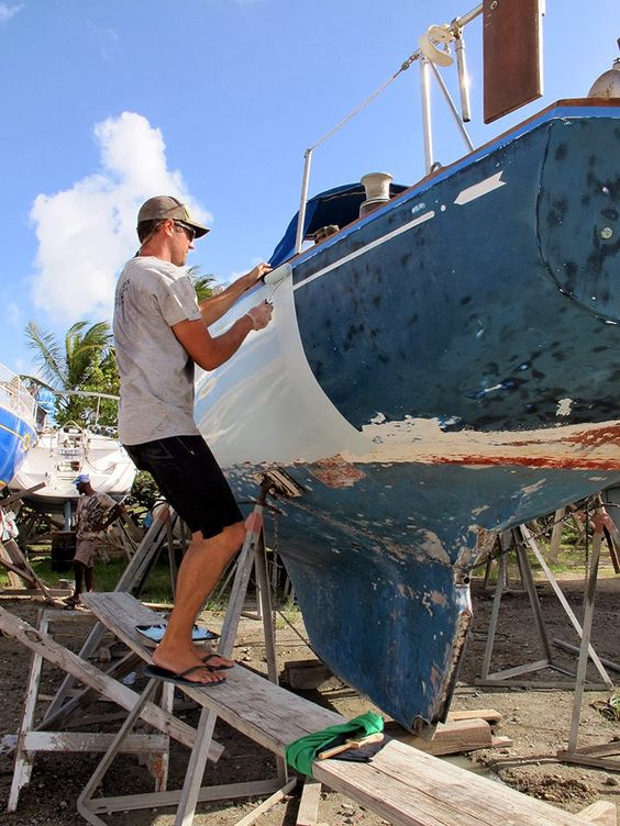is it necessay to paint the hull on a sailboat