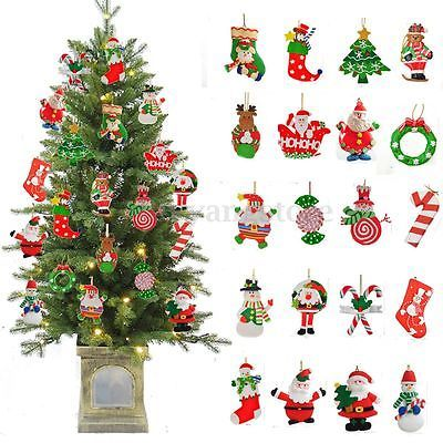 Christmas Santa Claus Ornaments Festival Party Xmas Tree Hanging