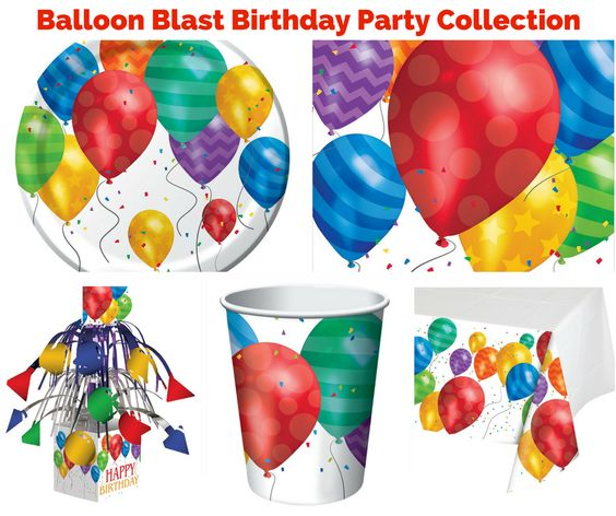 Balloon Blast Birthday Party