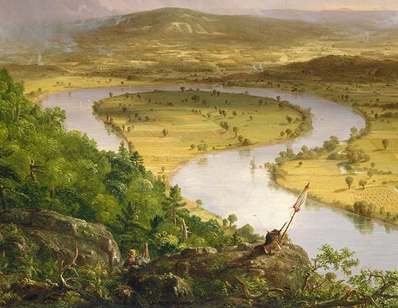Thomas Cole: View from Mount Holyoke, - 63.3KB