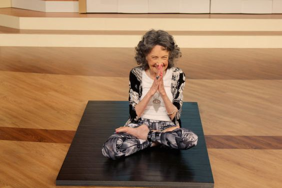 "The first thing you notice about Tao Porchon-Lynch, AKA ""the world's oldest yoga teacher,"" is her smile."