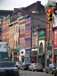 The Strip District. Shops, food, food, food. Home of the first Primanti Brothers.