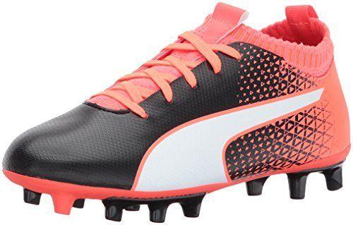Puma Kids\u0027 Evoknit Ftb FG Soccer-Shoes