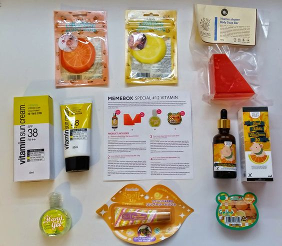 Bits and Boxes: So I Got the Memebox Vitamin Care today...  Review...