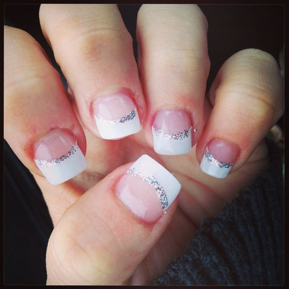 2013 Prom Nail Design Ideas: French, Prom Nails And French Tips On Pinterest