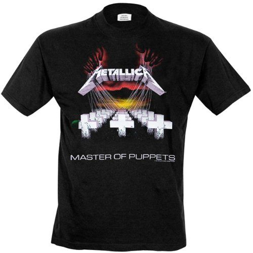 Metallica - T-Shirt Master Of Puppets (in S)