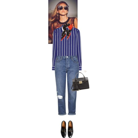 Outfit of the Day by wizmurphy on Polyvore featuring Loro Piana, Topshop, Gucci, Salvatore Ferragamo, Pamela Love, Marc Jacobs, ootd and gucci