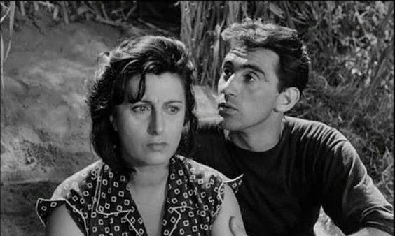 "Walter Chiari & Anna Magnani in ""Bellissima"" (Dir. Luchino Visconti)"