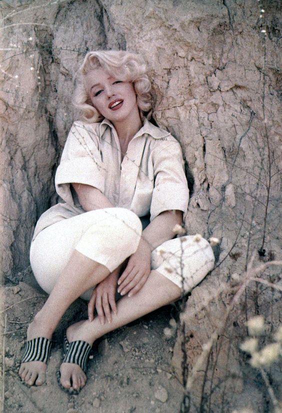 Marilyn Monroe photographed by Milton Greene in 1953