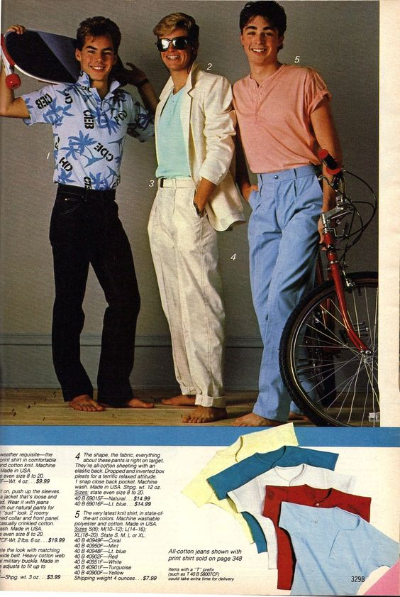 80s Fashion Men Need 2 Have 80 39 S Pinterest Pastel