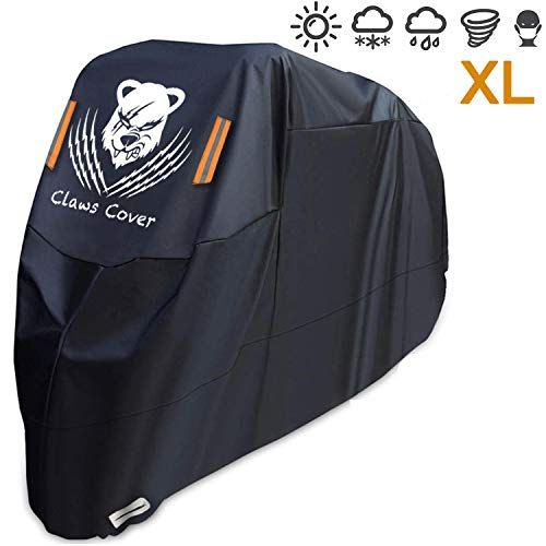 Xl Motorcycles Covers Waterproof 96 5 Inches Heavy Duty All Weather 420d Oxford Durable Sun Dust Wind Proof 4 Season Scooter Sports Bike Cover Accessories Outdo Motorcycle Cover Bike Cover Motorbike Cover