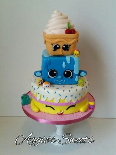 Shopkins Birthday Cake: