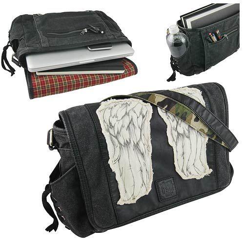 The Walking Dead Daryl Dixon Wings Mini Messenger Bag - The Coop - Walking Dead - Messenger Bags at Entertainment Earth