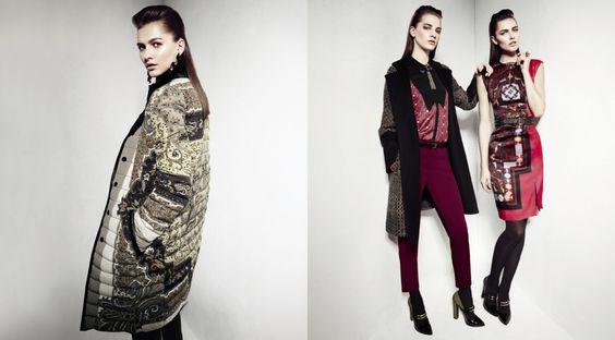Etro Woman Autumn Winter 13-14 Main Collection