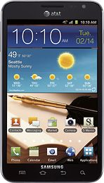 Galaxy Note. I know, make fun of the stylus.. but this bad boy is cool, beautiful, and FAST!