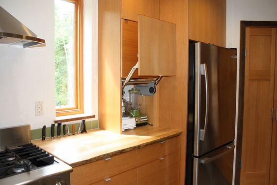 Krot-Remick Residence - Flat Panel Vertical Grain Fir Kitchen