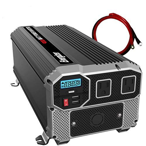 Energizer 4000 Watt 12v Power Inverter Dual 110v Ac Outl Https Www Amazon Com Dp B07cm89b9y Ref Cm Sw R Pi Dp U X K74r Power Inverters Energizer Ac Power
