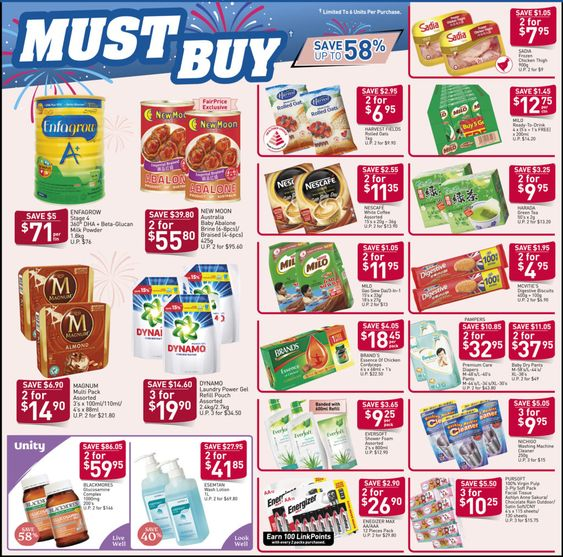 Ntuc Fairprice Sg Your Weekly Saver Promotions 27 Dec 1 Jan 2020 Savers Dec Dec 1