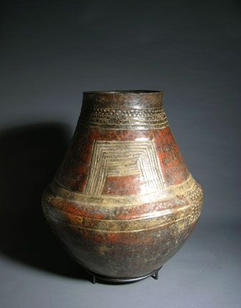 Africa | Songye Culture, Democratic Republic of the Congo, storage vessel