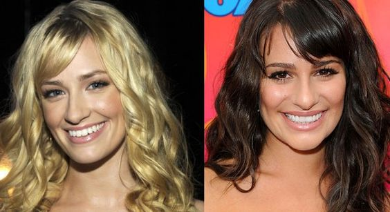 Beth Behrs and lea michele