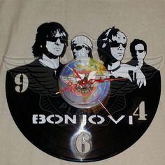 26,50 € Horloge vinyle décoration Bon Jovi