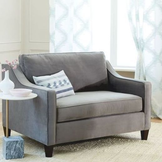 Paidge Chair And A Half Twin Sleeper In 2020 Sofas For Small Spaces Best Sleeper Sofa Chair And A Half