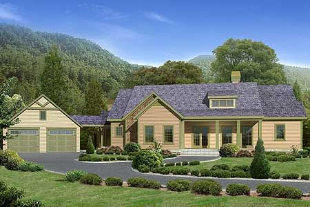 Plan 29805rl bring the outdoors in house plans home for Mountain vacation home plans