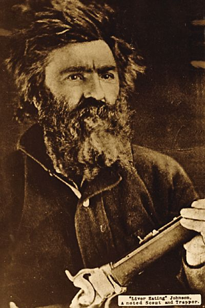 """John """"Liver-Eating"""" Johnston, a famous mountain man and the inspiration for the character Jeremiah Johnson"""