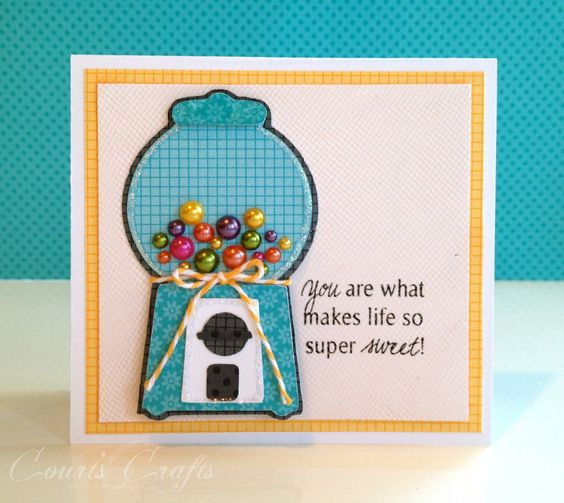 Court's Crafts: Doodlebug Project 2 - Gumball Machine
