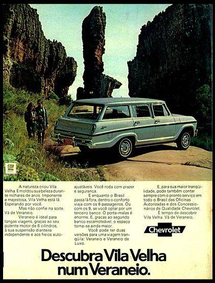 1973 Chevrolet Veraneio de Luxo - Brasil