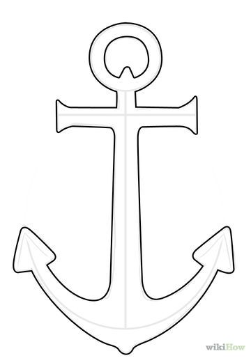 Line Drawing Anchor : Anchors on pinterest