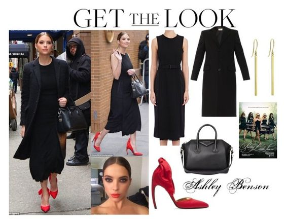 """""""Ashley Benson The View January 12 2016"""" by valensmilerstyle ❤ liked on Polyvore featuring A.L.C., Givenchy, Jennifer Meyer Jewelry, Yves Saint Laurent, women's clothing, women's fashion, women, female, woman and misses"""