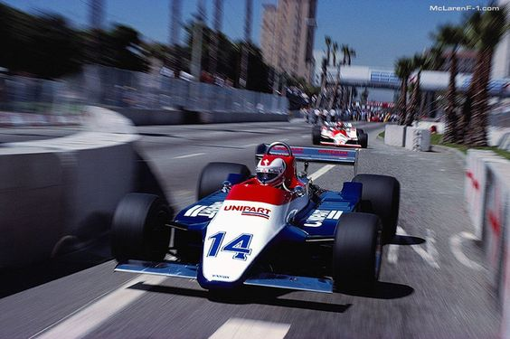 Clay Regazzoni, Ensign, United States Grand Prix, 1980.