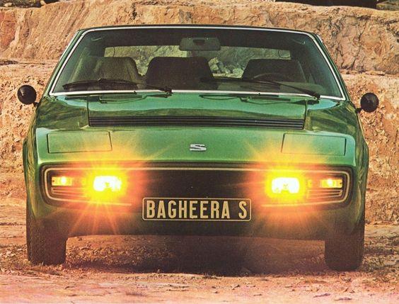 1973 - Matra-Simca   Bagheera S