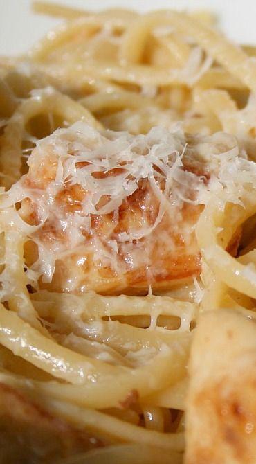Lemon Parmesan Pasta with Chicken
