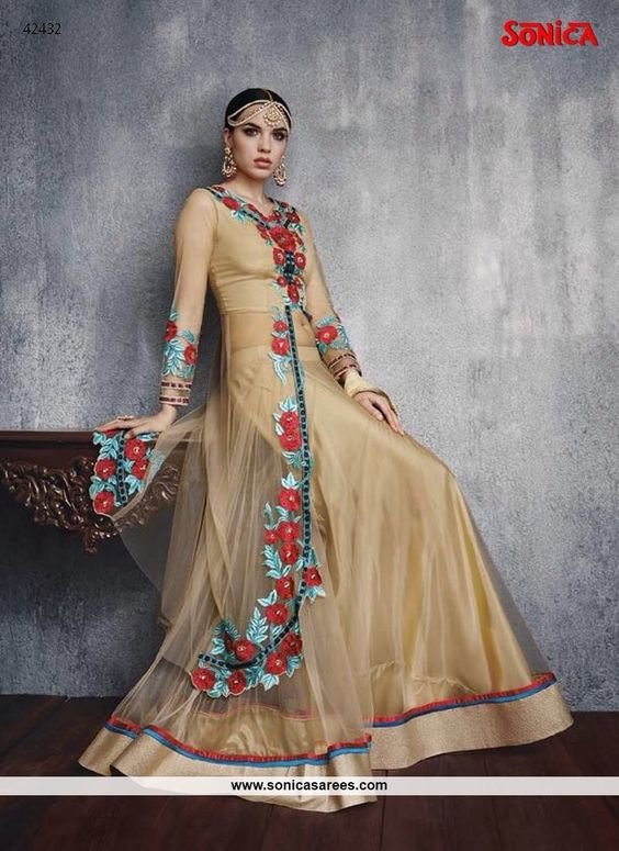 Link: http://www.sonicasarees.com/salwar-suits?catalog=3754 Price range INR 2,998 to 3,650 Shipped worldwide within 7 days. Lowest price guaranteed.