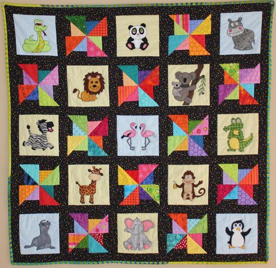 Looking for your next project? You're going to love Zoo Quilt by designer MsPDesignsUSA.