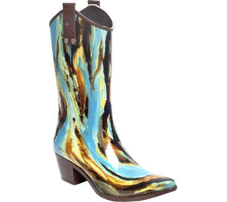 RainBOPS Cowgirl Style Rain Boot - Austin - Free Shipping & Return Shipping - Shoebuy.com