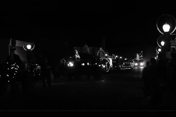 271/365 black and white, 365, parade of lights, San Juan Bautista, a photo a day for a year, holiday parade, old town parade