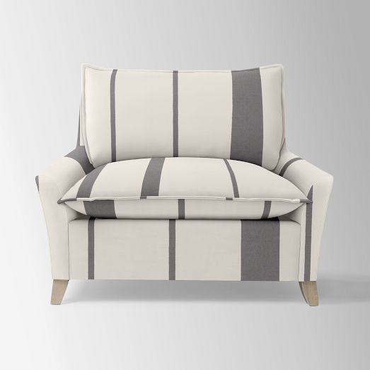 Bliss Down Filled Chair And A Half   Prints | West Elm | Decore Galore |  Pinterest | Bliss, Living Room Redo And Living Rooms