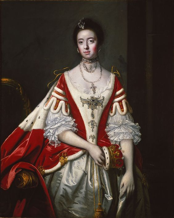 Frances, Countess of Dartmouth, 1756, Sir Joshua Reynolds, Museo Thyssen-Bornemisza, Madrid.