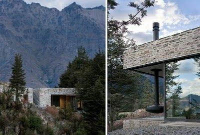 Mountain architecture - Fearon Hay Architects via La Boheme