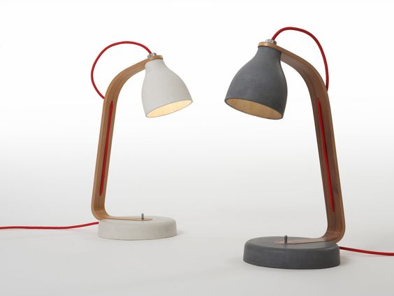 Schreibtischlampe Beton Benjamin Hubert