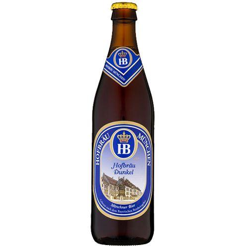 Bia Hofbräu Dunkel 5.5% - Chai 500ml - Bia Đức Nhập Khẩu TPHCM