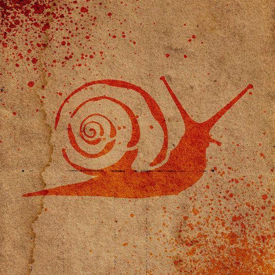 Snail Stencil