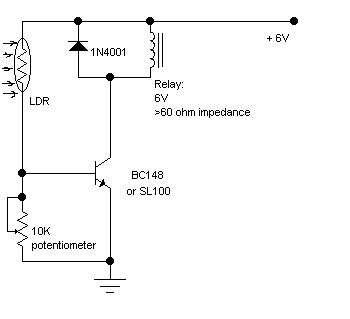 Light Barrier Detector - Electronics Circuits & Hobby | DATOS Y ...